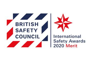 British Safety Council award merit logo