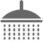 Tischmontierte Augen-/ Gesichts- und Körperdusche mit Einfachspülkopf