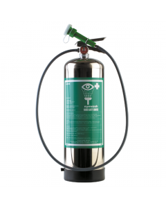 Portable self-contained unit with handheld eye wash  - 2.9 US gallon