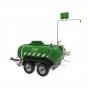 Mobile self-contained heated safety shower - 528 US gallon