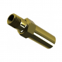 Scald protection valve
