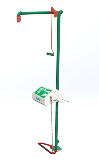 exp-18G/45G tubular shower